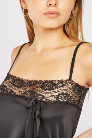 Sammie Trim Camisole Sensual Lingerie Brief and Top Set