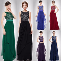 A Line Silhouette Sleeveless Party Gown Dress - Pleated Maxi Dress Hollow Out Cut Woven Trends
