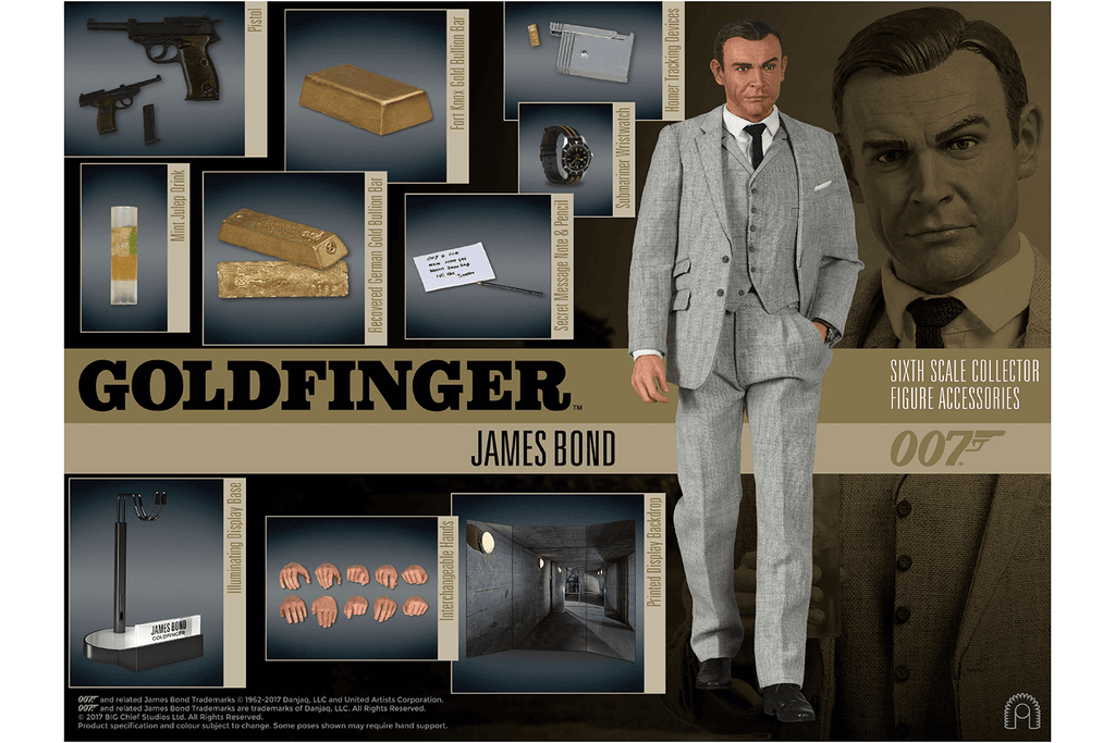 Bond stripped bare - the unboxing video revealing all!
