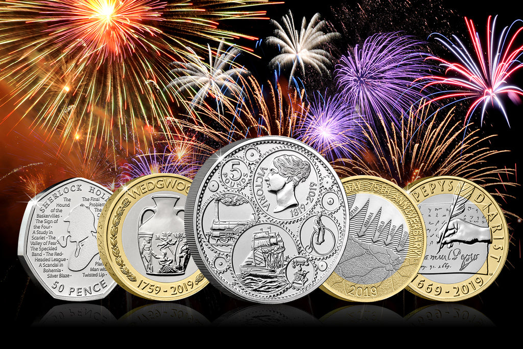 Happy New Coins! REVEALED: The Official UK 2019 Coin Releases…
