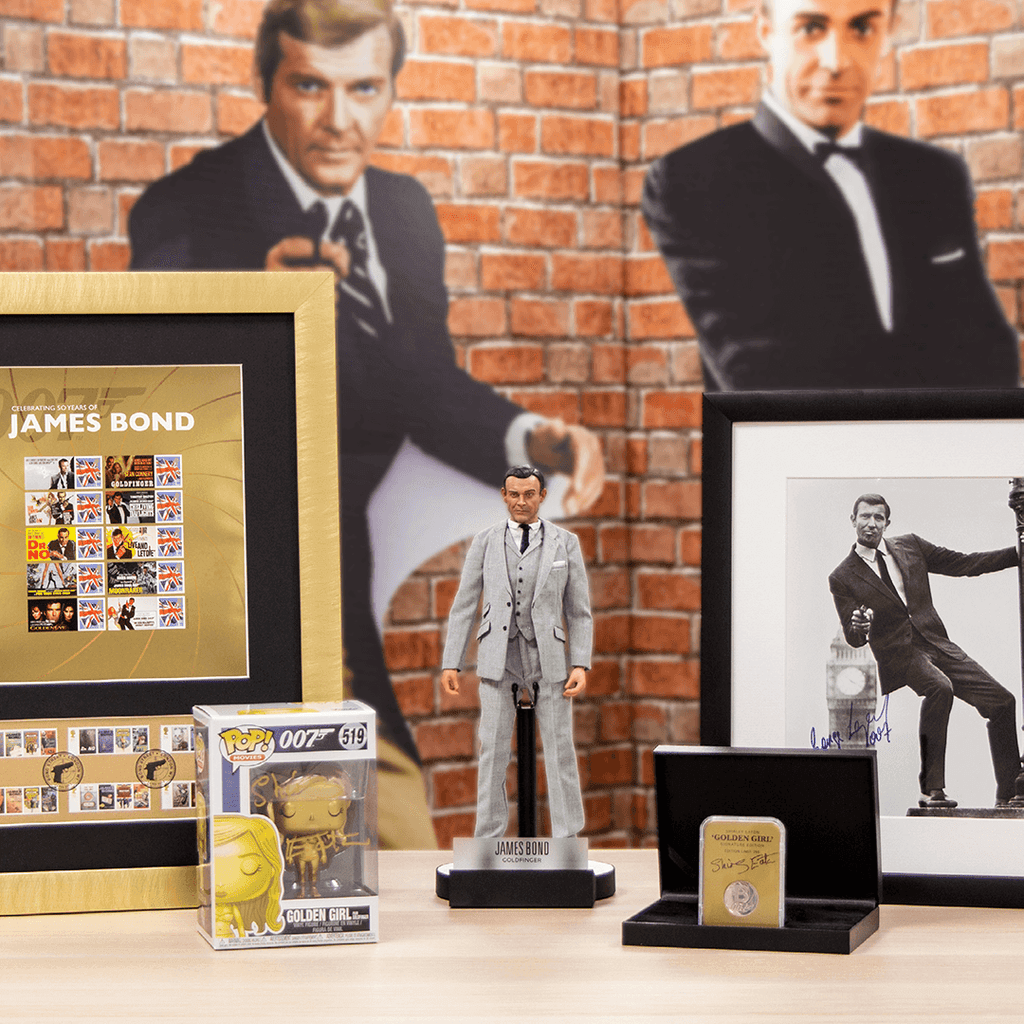 All you need to know about our hand-signed James Bond items and the incredible Bond collectables range…