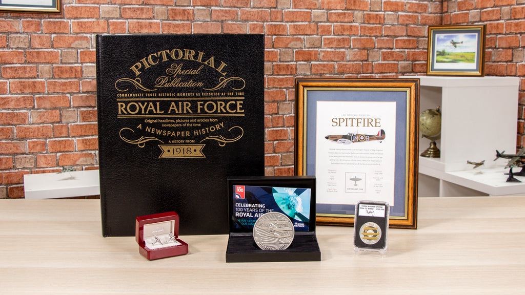 Everything you need to know about our incredible RAF Centenary Range...