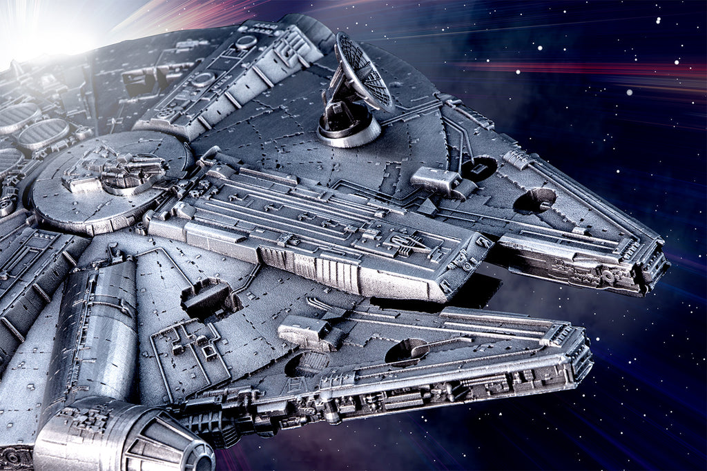 The story behind perhaps the most detailed Millennium Falcon in the galaxy…