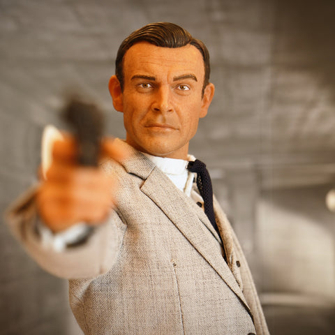 The James Bond Sean Connery Goldfinger Figure