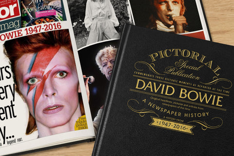 The David Bowie Newspaper Book