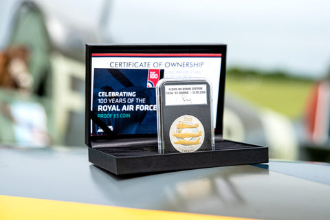 The RAF Flown £5 Coin Capsule Edition
