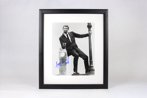 The George Lazenby Signed Framed Photograph