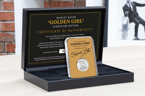 The 'Golden Girl' Signed Capsule Edition