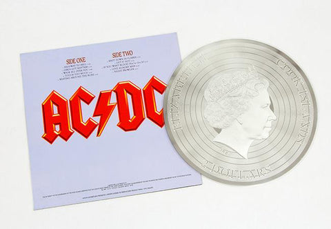 The AC/DC Highway to Hell Silver Foil Album - Collectology
