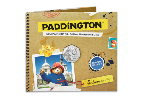 The Paddington at St Paul's Cathedral 50p BU Pack - Collectology