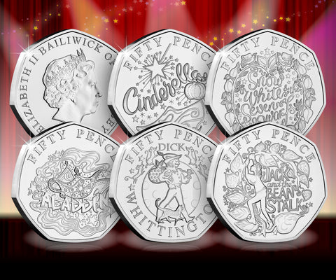 The Signed Panto 50p Capsule Edition Set - Collectology