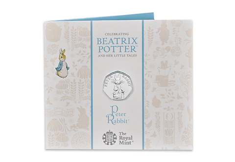 The UK 2019 Peter Rabbit 50p BU Pack - Collectology