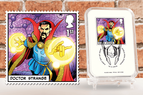 First Day of Issue Capsule Edition - Doctor Strange Stamp - Collectology