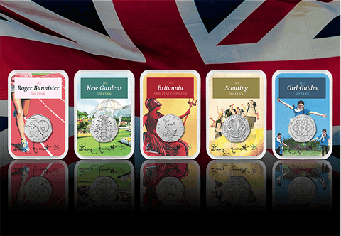 50 years of the 50p Signed Capsule Edition Set - Collectology