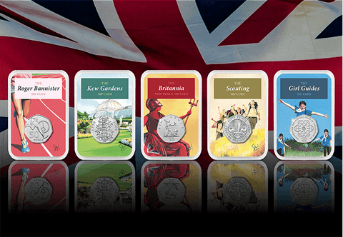 50 years of the 50p Capsule Edition Set - Collectology