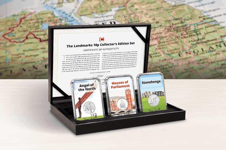 The Landmarks 10p Collector's Edition Set - Collectology
