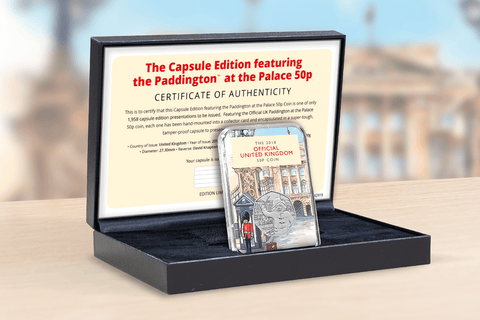 The Capsule Edition featuring the Paddington at the Palace 50p - Collectology
