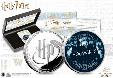The Harry Potter Silver Christmas Capsule Edition