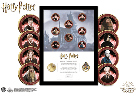 The Harry Potter Favourites Framed Edition - Collectology