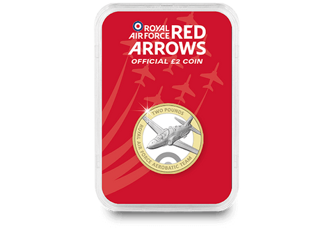 The Red Arrows £2 Capsule Edition - Collectology
