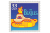 The Beatles Yellow Submarine Stamp & Vinyl Frame - Collectology