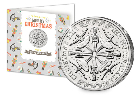 The Nutcracker Coin Christmas Card - Collectology
