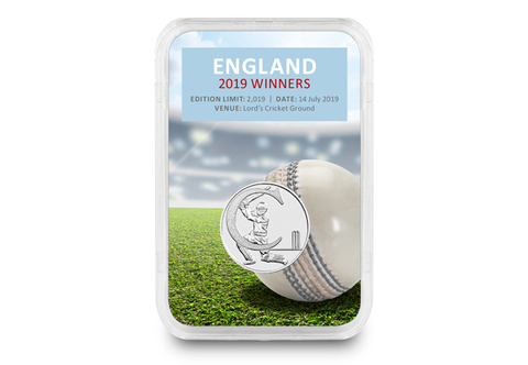 The England 2019 Cricket Winners Capsule Edition - Collectology