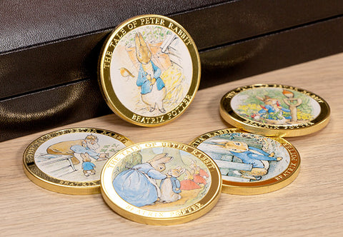 The Tale of Peter Rabbit Gold-Plated Collection - Collectology