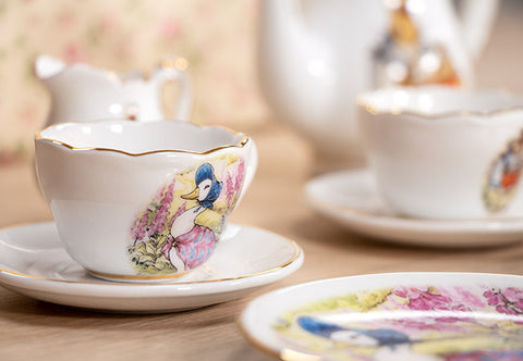 The Beatrix Potter Porcelain Tea Set - Collectology