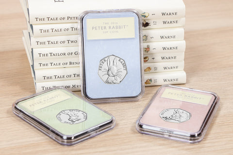 The Collector's Edition featuring the Peter Rabbit 50p Coins - Collectology