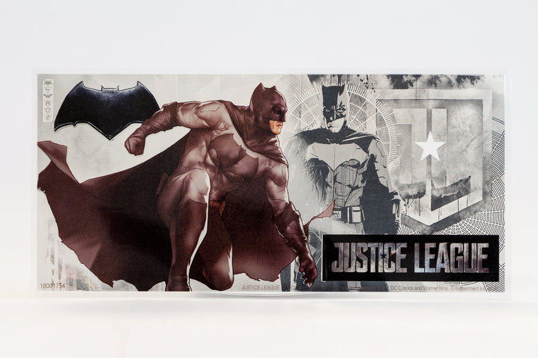 The Justice League Batman Coin Note & Collector's album - Collectology