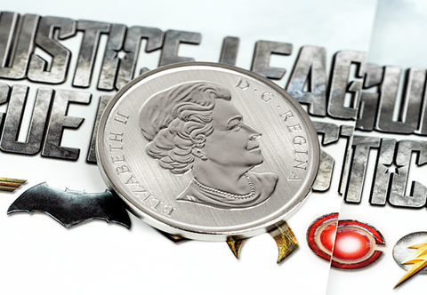The Justice League Lenticular Coin - Collectology