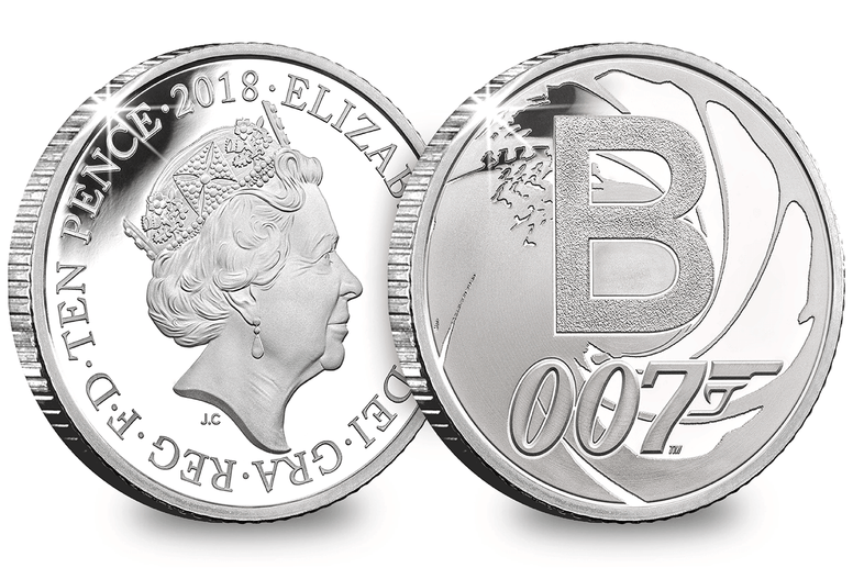 The Official UK 'Bond' 10p Silver Coin - Collectology