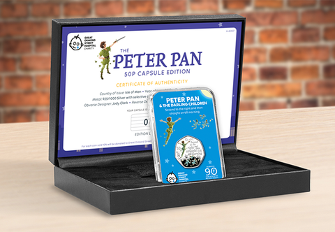 The Peter Pan Silver 50p Capsule Edition - Collectology