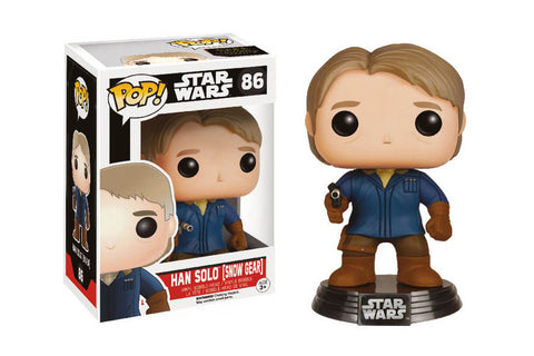 The STAR WARS Episode VII Pop! Vinyl Bobble-Head Han Solo in Snow Gear - Collectology