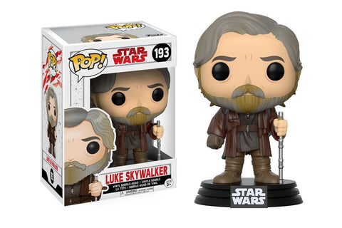 The STAR WARS Episode VIII Pop! Vinyl Luke Skywalker Bobble-Head Figure - Collectology