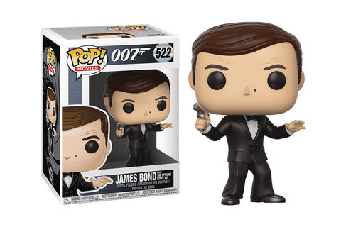 The James Bond Roger Moore Pop! Vinyl Figure - Collectology