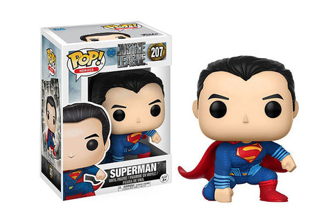 The Justice League Superman Pop! Movies Vinyl Figure - Collectology