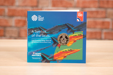 The UK 2018 RAF Centenary Badge £2 Coin Pack - Collectology