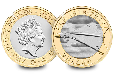 The UK 2018 RAF Vulcan £2 Coin Pack - Collectology