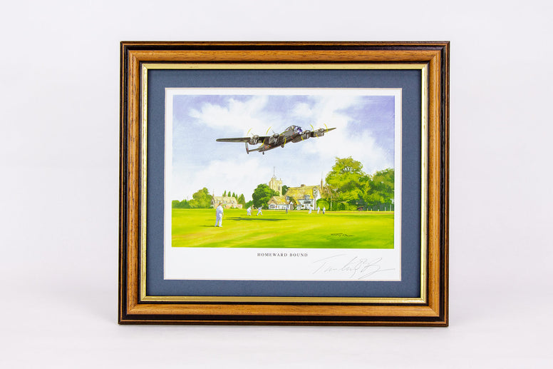 The Lancaster Signed Framed Print - Collectology