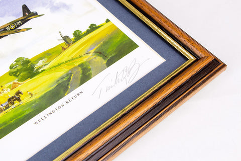 The Wellington Signed Framed Print - Collectology