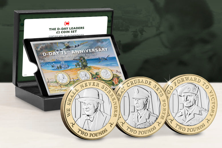 The D-Day Leaders £2 Capsule Edition - Collectology