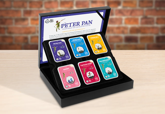 The Peter Pan Silver 50p Capsule Edition Set - Collectology