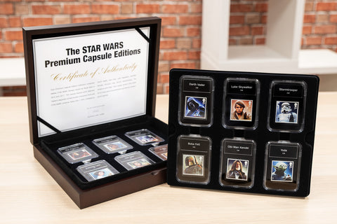 STAR WARS Stamps Premium Capsule Boxed Collection - Collectology