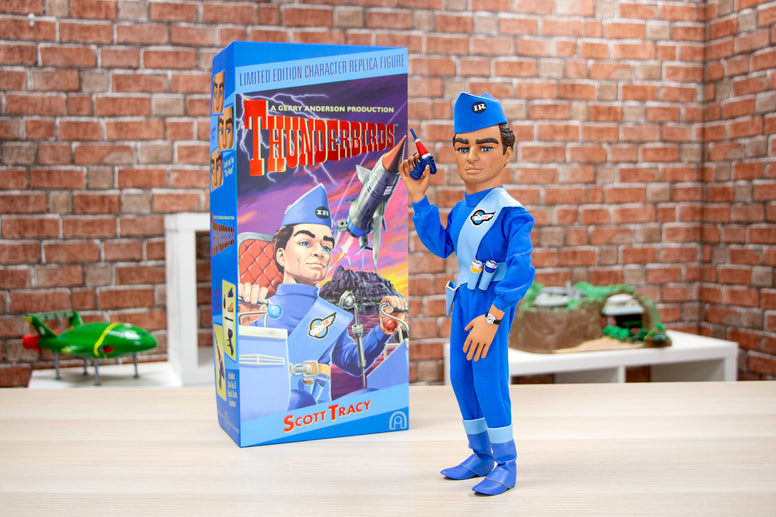 The Thunderbirds Scott Tracy Figure - Collectology