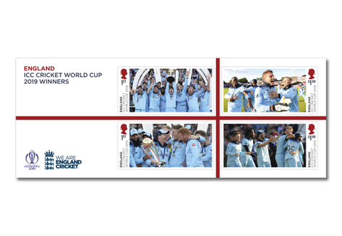The England Cricket Winners Stamps Framed Edition - Collectology