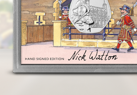 The Signed Collector's Edition featuring the 2019 Paddington 50p coins - Collectology