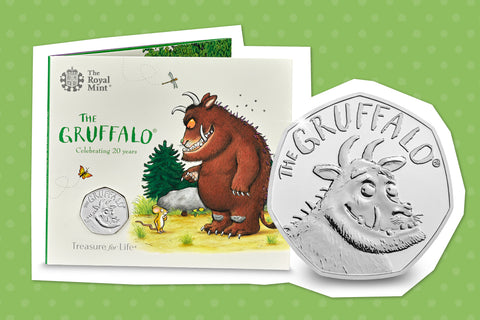 The UK 2019 Gruffalo 50p - Collectology