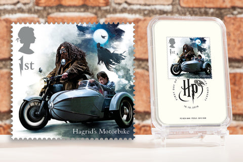 The First Day of Issue Capsule Edition - Hagrid's Motorbike Stamp - Collectology